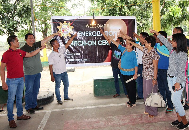 ENERGIZATION AND SWITCH-ON CEREMONY