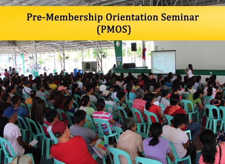 Pre-Membership Orientation Seminar (PMOS)